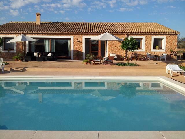 Una casa con encanto en el sur de Mallorca