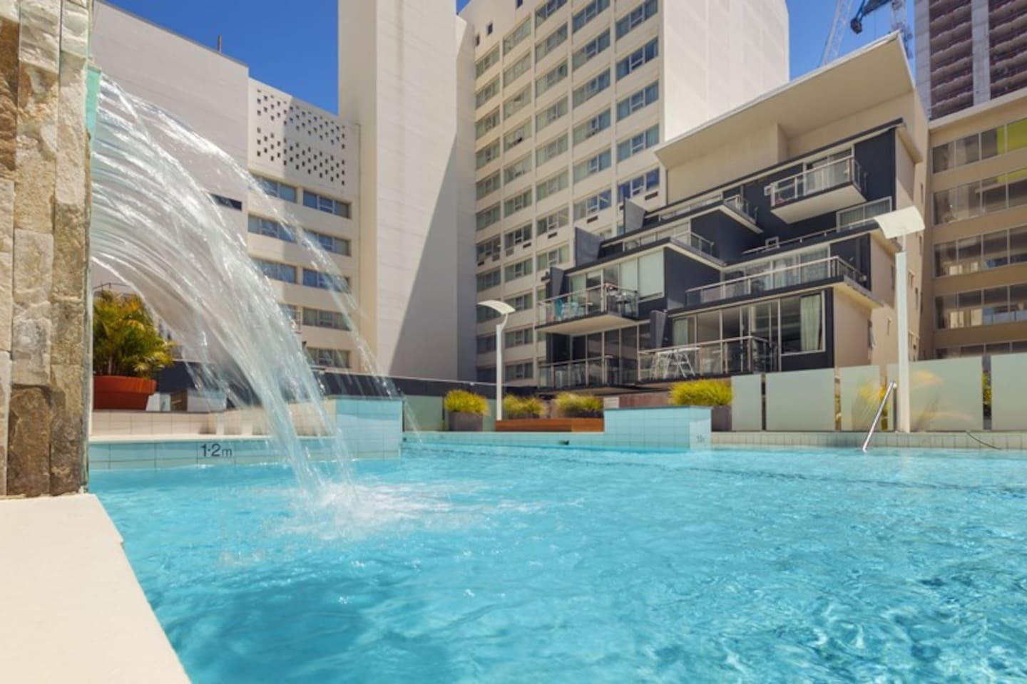 Refresh yourself in the complex pool