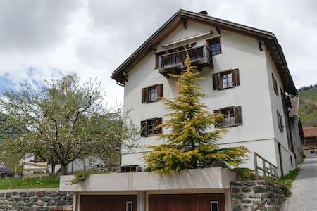 gemütliche Ferienwohnung in den Bündner Bergen