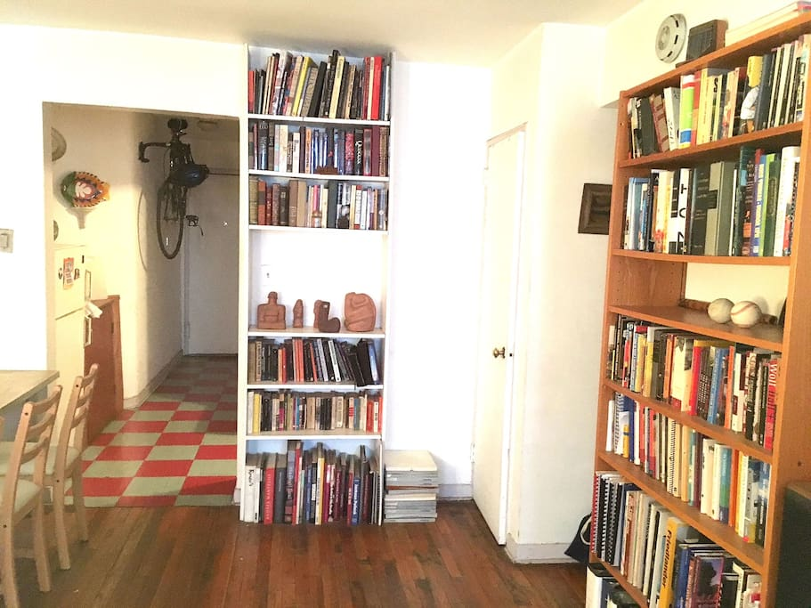 Lots of books if you like to read