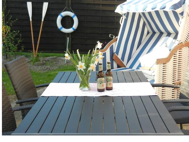 Ferienhaus NORDSEEJUWEL strandnah! - Friedrichskoog-Spitze - Casa