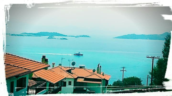 Apartment 65 tm  with lovely sea view.! ! !