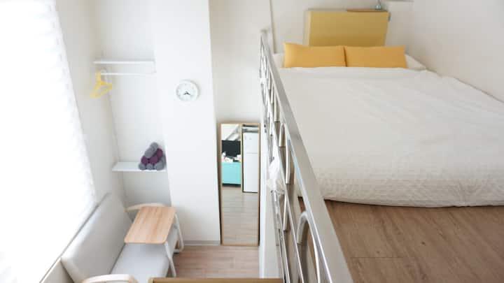Duplex mini Studio@ Hongik univ. stn+FreeWiFi 501