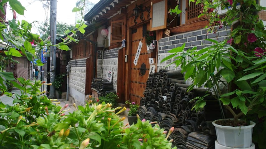 typical Korean-traditional house