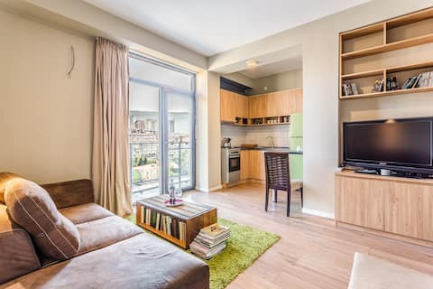"""""""Sairme Hill"""" Cozy apartment with a nice view."""