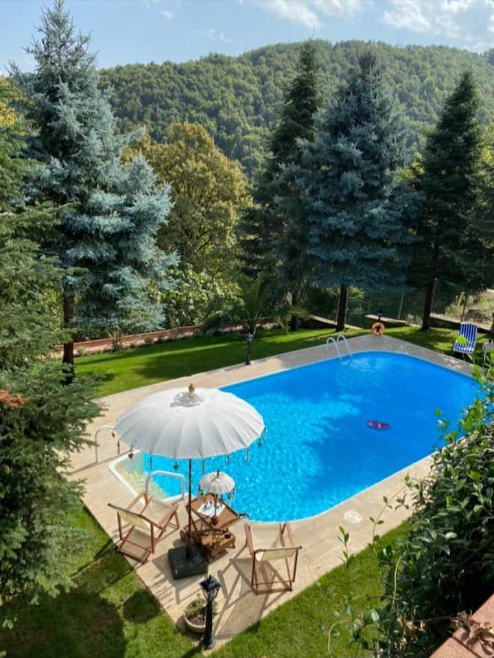 Red House Villa Sapanca 'da Eşsiz Bir Tatil Evi