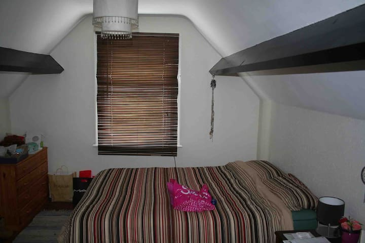 Cosy Attic Bedroom in Central Barnsley