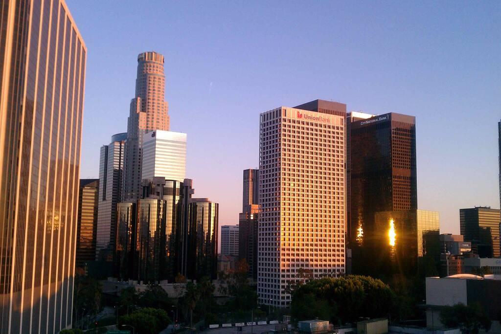 excellent downtown views