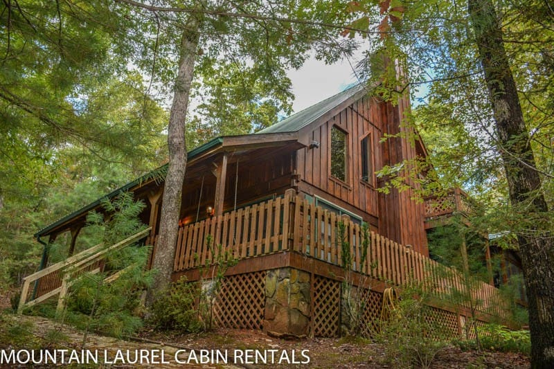 MLC Chasing Rainbows   Cabins For Rent In Mineral Bluff, Georgia, United  States