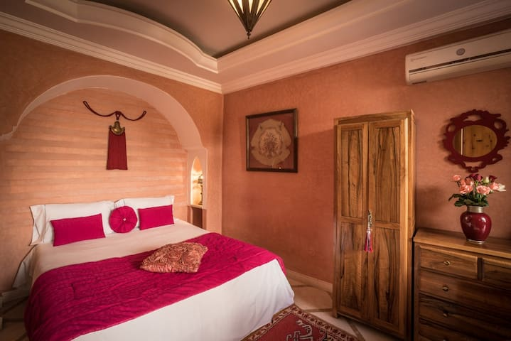 Dar Attika Chambre Rose Mricha - Marrakesh - Bed & Breakfast