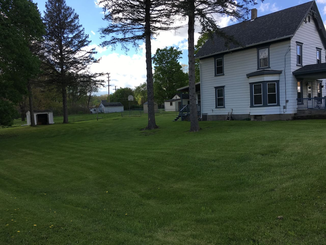 Large yard perfect for outdoor fun! Front porch too!