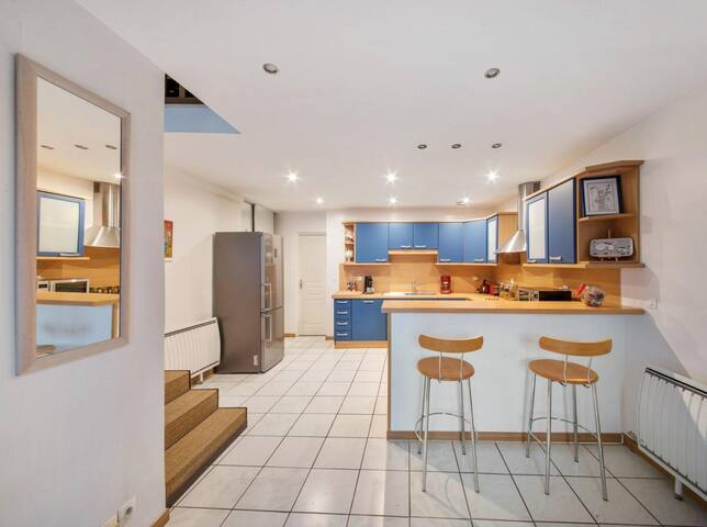 Loft duplex à Moret sur Loing - 95 m²