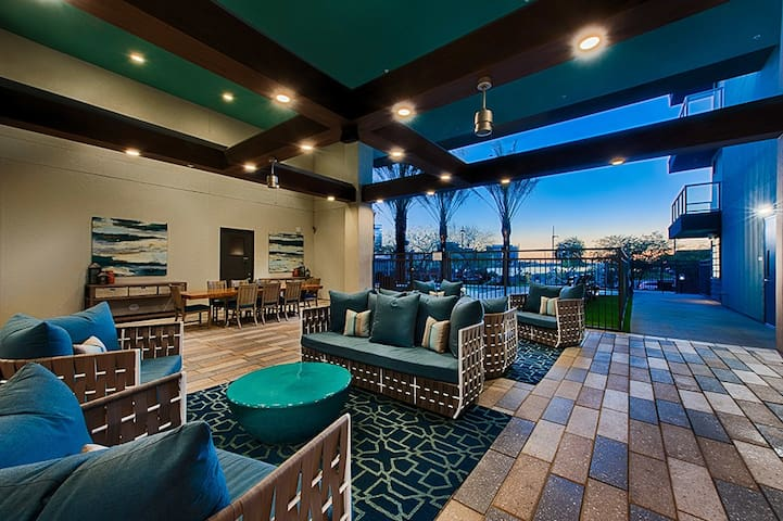 Outdoor living/ billiards and ping pong/ wall mounted t.v.'s!!