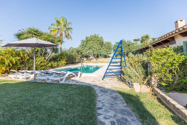 Goret Vell - Charming house with pool and garden - Santanyí - House