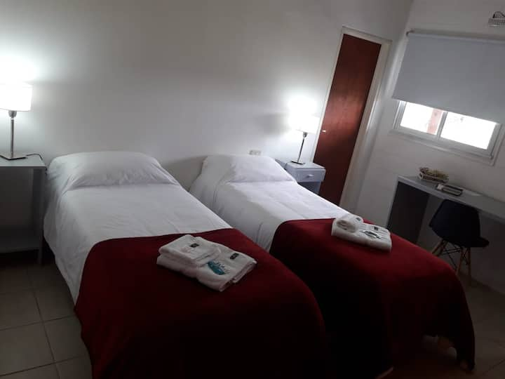 Hotel recién inaugurado, doble individual