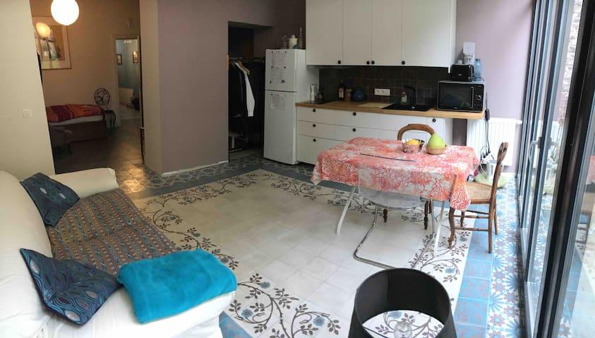 Studio dans maison de charme à Uccle