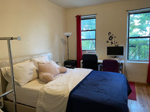 Cosy Apartment-Inwood 4 min to train 1, A, &Park