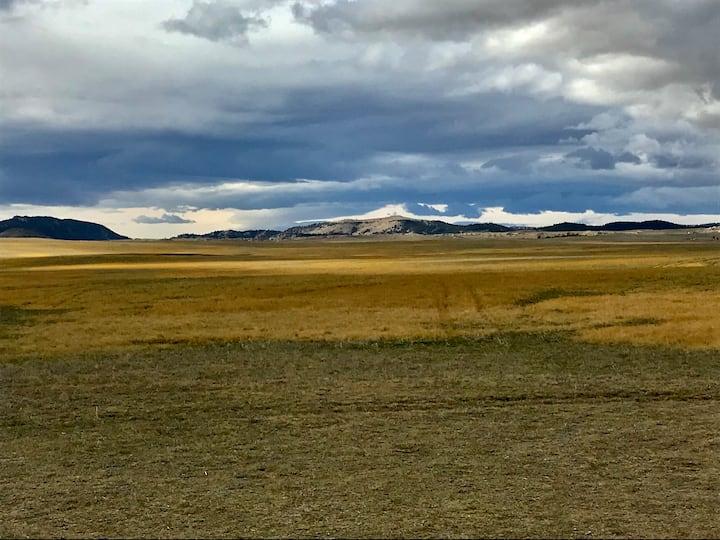 Wyoming Cabin.