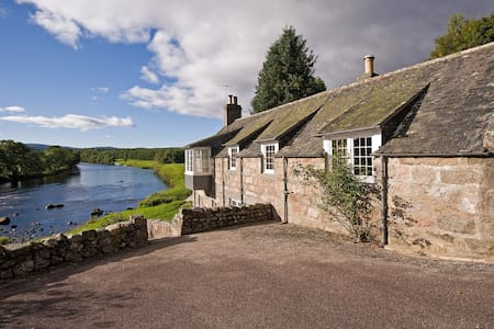 Mill Cottage in stunning riverside position - Aberdeenshire - Rumah
