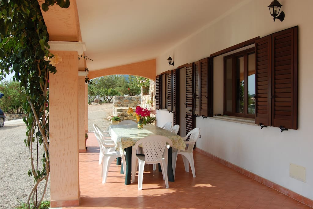 Veranda e tavolo