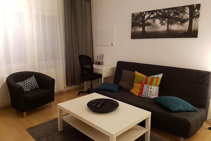 schöne City-Wohnung mit Balkon nähe Hauptbahnhof