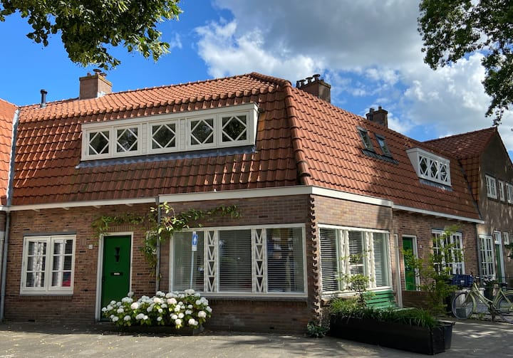 Beautiful monumental private house near Amsterdam