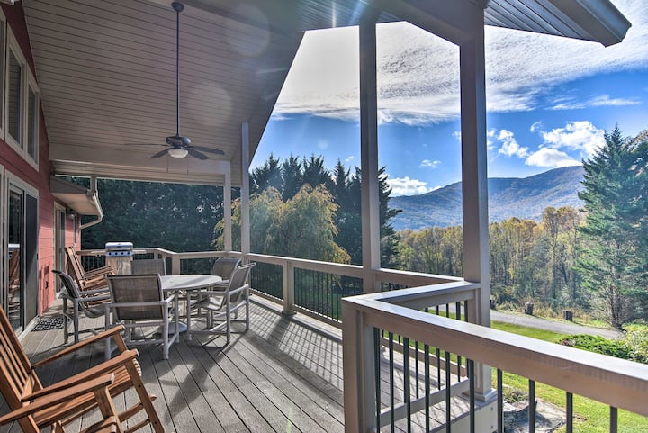 NEW! Tranquil 6-Acre Retreat w/Hot Tub & Mtn Views