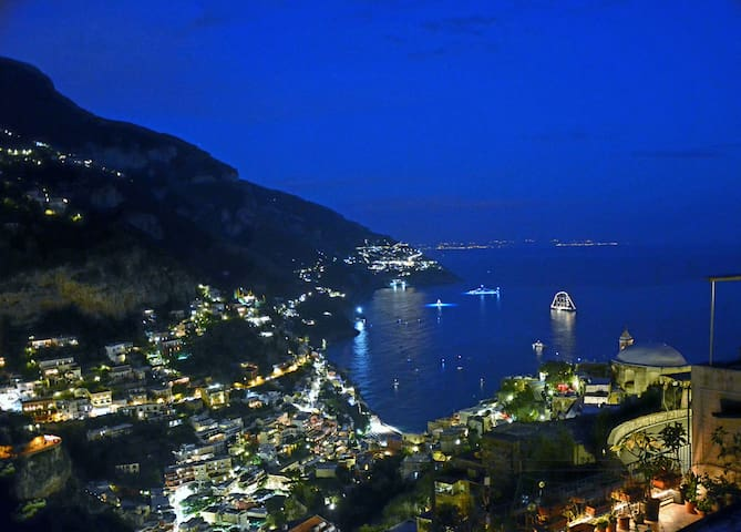 Positano Quite place Wi-Fi Sea view - Positano - Hus