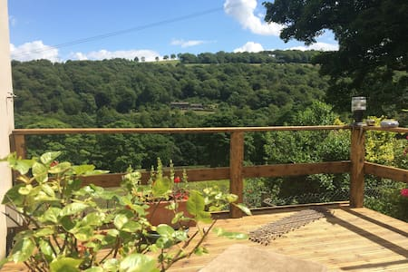 Cute stone cottage for two in the Ryburn Valley - Sowerby Bridge - 独立屋