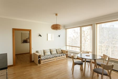 Luminous nest in the trees - Riga - Appartement