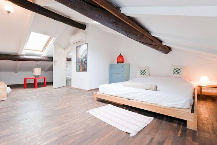 Amazing Duplex in the Heart of Navigli - Milan - Loft