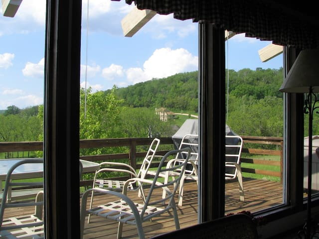 RELAX free wifi/no cleaning fee  ADD 11% taxes - Galena - Dom