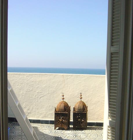 On the ocean / incredible view / charm / internet - Asilah - Huis