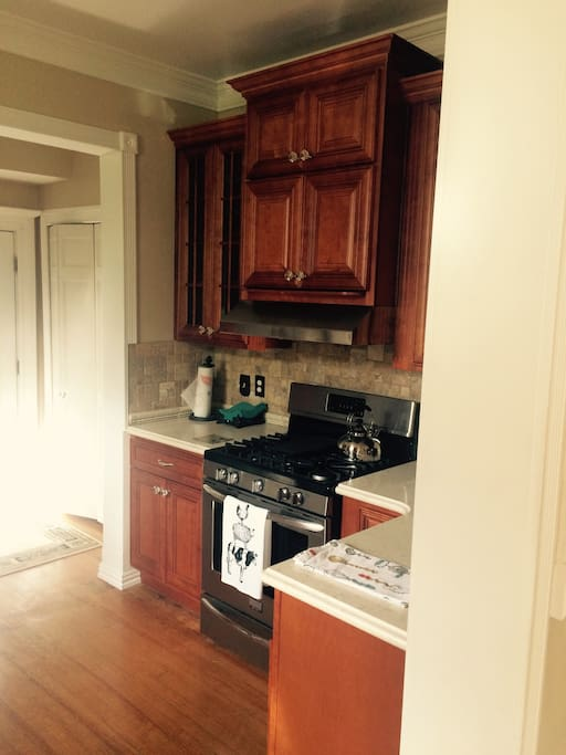 Recently renovated with all new kitchen appliances
