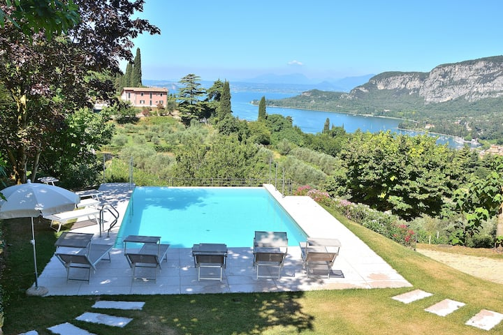 Cà Cantoni Villa With Pool Lake View