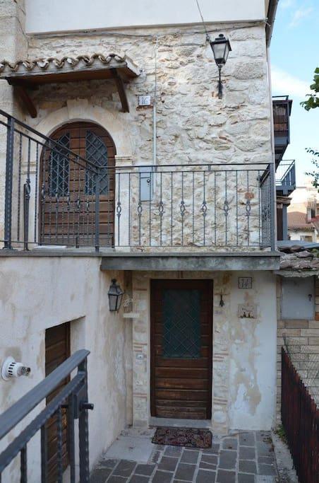 Foto esterna della casa