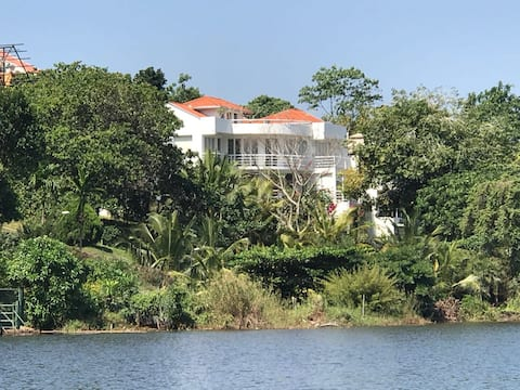 The White House by Lake Bolgoda