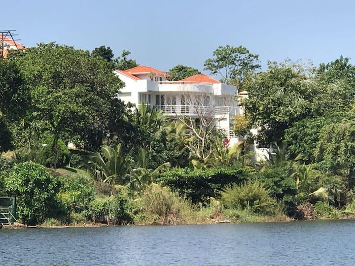 The White House by Lake Bolgoda