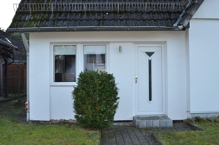 Wohnung für Reisende im grünen Hamburger Süden