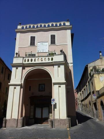 Loft nel centro storico in Palazzo Campanari - Toskania - Apartament