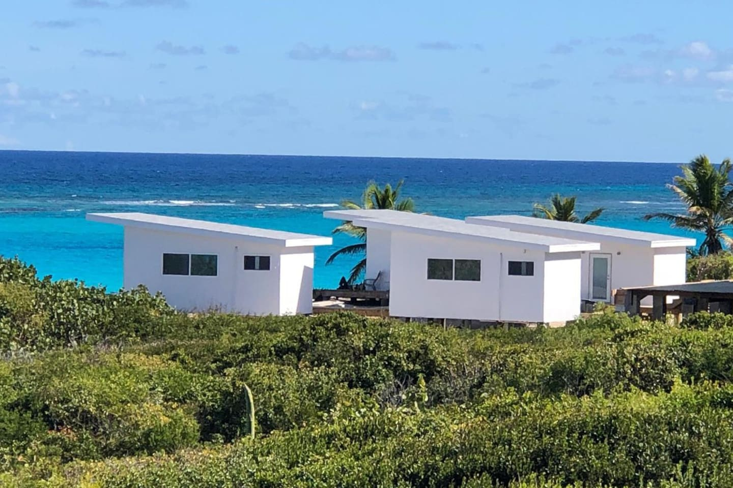 Stay in one of our modern, luxury oceanfront casitas!