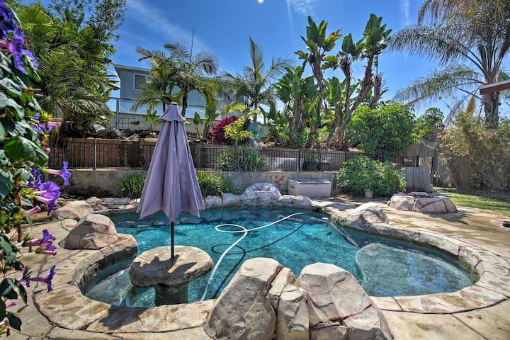 NEW! San Diego Area Home w/ Pool - 10 MI to D/T!