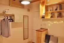 DEERHAUSx黑白格——极简日式榻榻屋:静安寺中心 南京西路地铁站(L2,12,13)步行8分钟