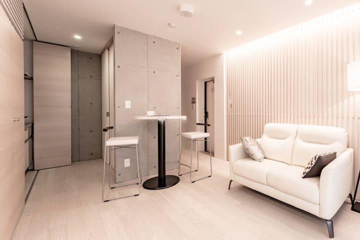 Sakura·3F, Clean & Private suite,Tsukiji / Ginza