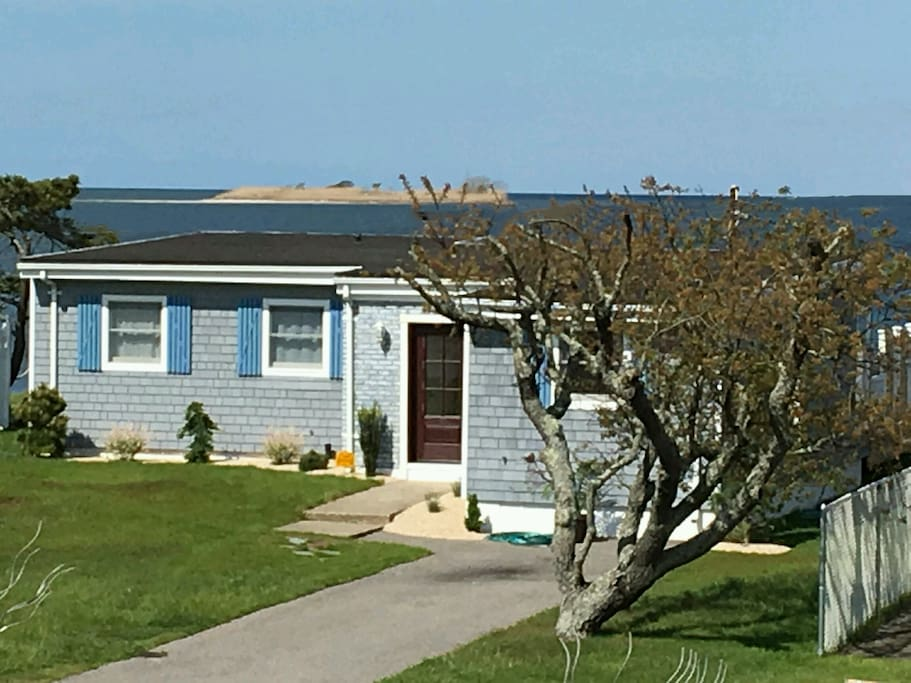 This is a true fully renovated Fire Island home with all the comfort and amenities!  The views are breathtaking...