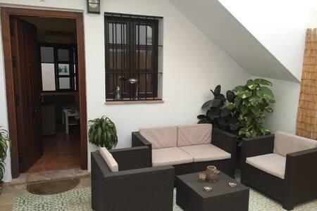 Céntrico apartamento con amplio patio