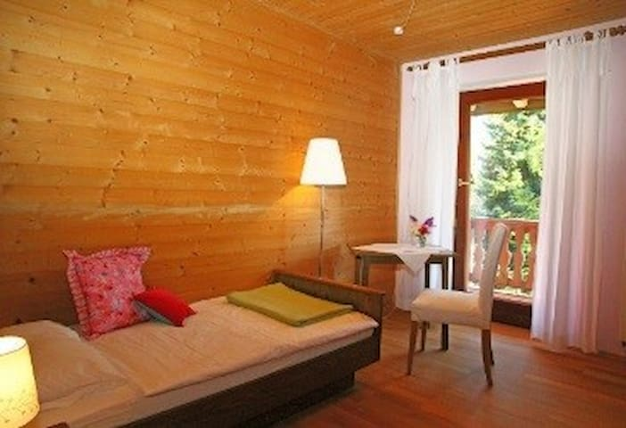 Pension - Herberge der Engel - Einzelzimmer rosa - Aschau im Chiemgau