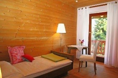 Pension - Herberge der Engel - Einzelzimmer rosa - Aschau im Chiemgau - Lejlighed