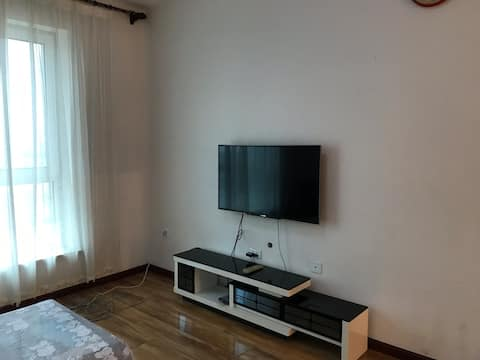 长春站黑水路远东两房双床100平空调房