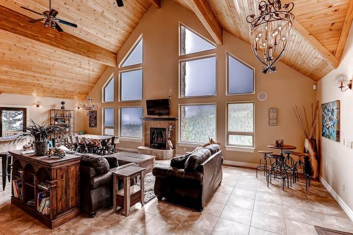 4 bdrs Mountain Home best views  SKI 30 MINS DEN